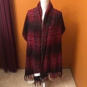 Abercrombie & Fitch blanket scarf   New.